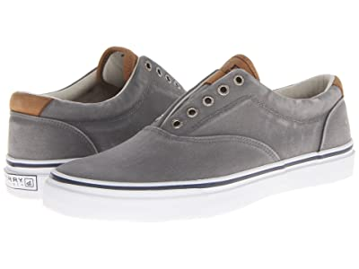 Sperry Striper CVO Salt-Washed Twill (Grey) Men