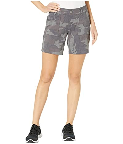 Prana Olivia Shorts 7 (Gravel Camo) Women
