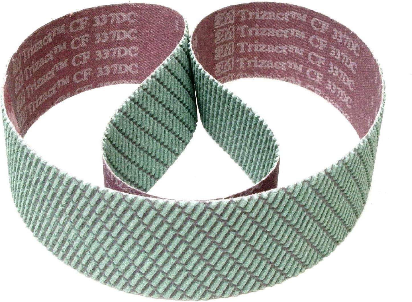 | 1 St/ück 3M Trizact 337DC CF Schleifband f/ür Stahl und Metall 2 x 72 K/örnung: A045 50 x 1830 mm P400