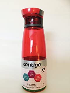 Contigo Autoseal Technology Grace Stormy Weather Water Bottle, Madison 32-Ounce (Sangria)