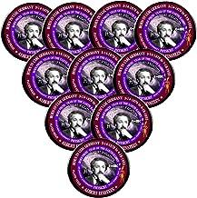 Pack-10 Albert Einstein Pins, Scientist Astrology Pisces Zodiac Earth Rabbit
