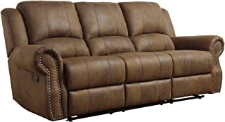 Best leather reclining sofa with nailhead trim Reviews