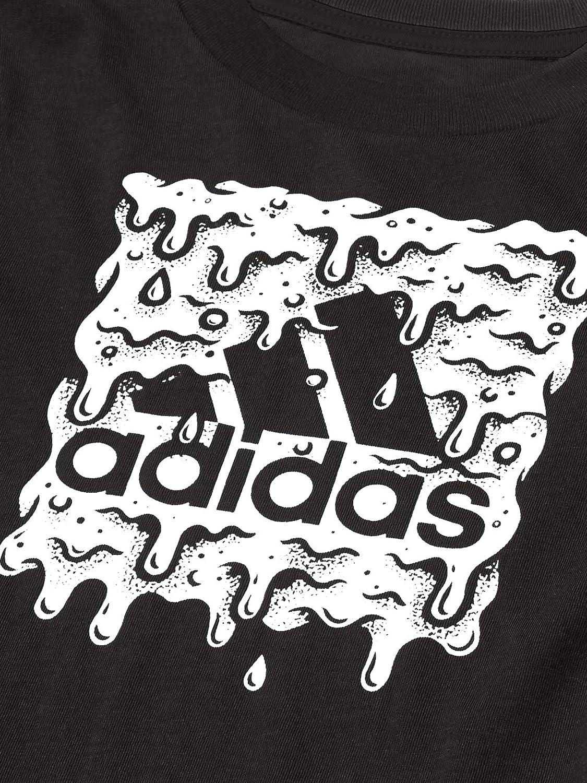 Amazon.com: adidas Boys' Long Sleeve Cotton Jersey Graphic T-Shirt ...