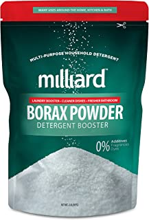 MILLIARD Borax Powder – Pure Multi-Purpose Cleaner 2 lb. Bag