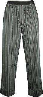 Ex-Store Mens Striped Lounge Pyjama Trousers Blue