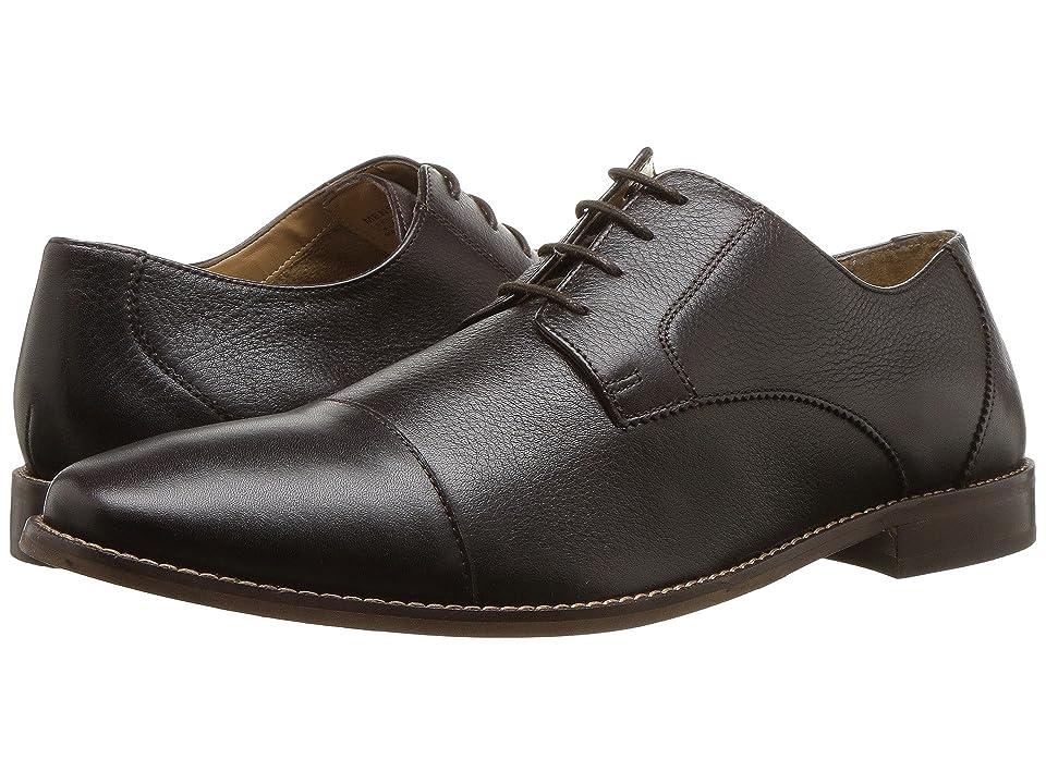 Florsheim Finley Cap-Toe Oxford (Brown Tumbled) Men