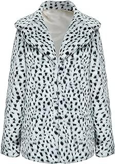 Best black and white faux fur coat Reviews