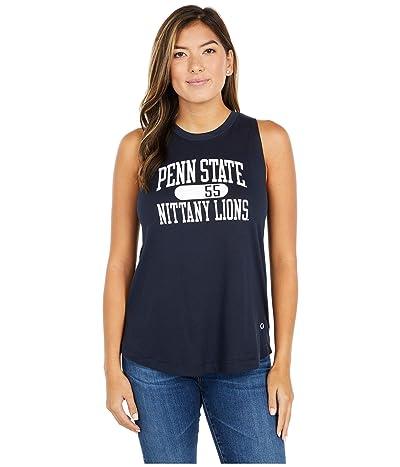 Champion College Penn State Nittany Lions University 2.0 Tank Top (Marine Midnight Navy) Women