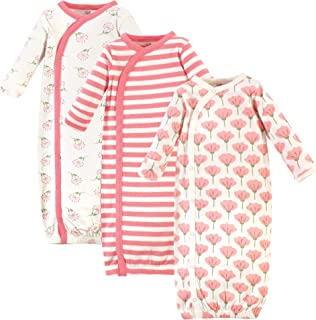 Touched by Nature Unisex Baby Organic Cotton Kimono Gowns
