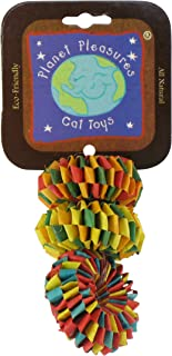 Planet Pleasures 3-Pack Tire Toy for Pets, Small