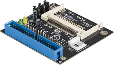 StarTech.com 40/44 Pin IDE to Compact Flash SSD Adapter - IDE to CF Card reader - CF to IDE Converter (IDE2CF)