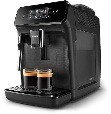 Philips EP1220/00 Serie 1200 Espresso-Kaffeeautomaten, mattes Schwarz, 1,8 l, Stahl