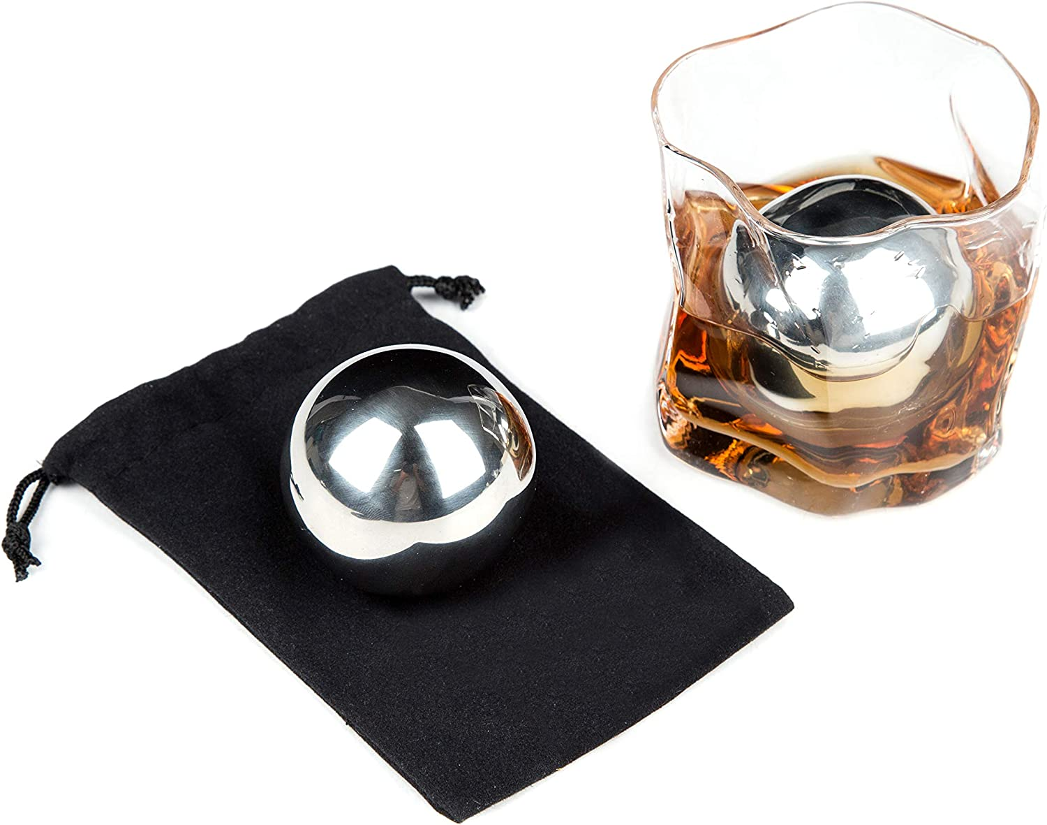 Portland Mall LUITON Save money Metal Stainless Steel Ice f Balls Reusable Stone Chilling