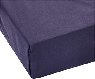 IBed home 2724569764361 sheet 3Pcs Set - Cotton 144 Thread Count, King Size, Navy Blue