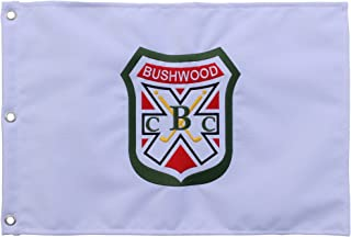 6b867c5d542e1 CaddyShack Pin Flag with Embroidered Bushwood Country Club Crest