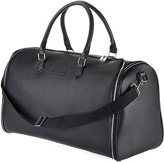 Bolso de Viaje Portatrajes Convertible | Funda de Protección y Transporte para Ropa | Ideal para Viajes de Negocios | Compartimentos Individuales para Zapatos y Accesorios | Negro