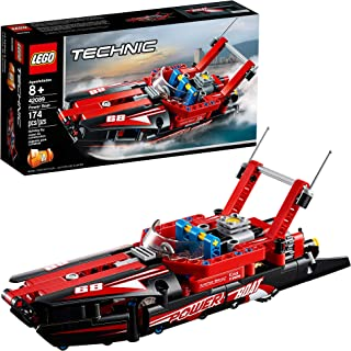 LEGO Technic Power Boat 42089 Building Kit, 2019 (174 Pieces)