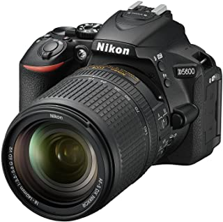 "Nikon D5600 + AF-S DX NIKKOR 18-140 mm VR, Fotocamera Reflex Digitale, 24.2 Megapixel, LCD Touchscreen 3"", Bluetooth, SD 8..."