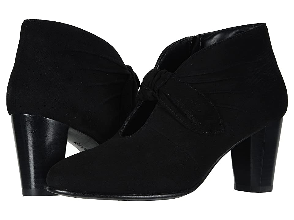 David Tate Gwen (Black Suede) Women