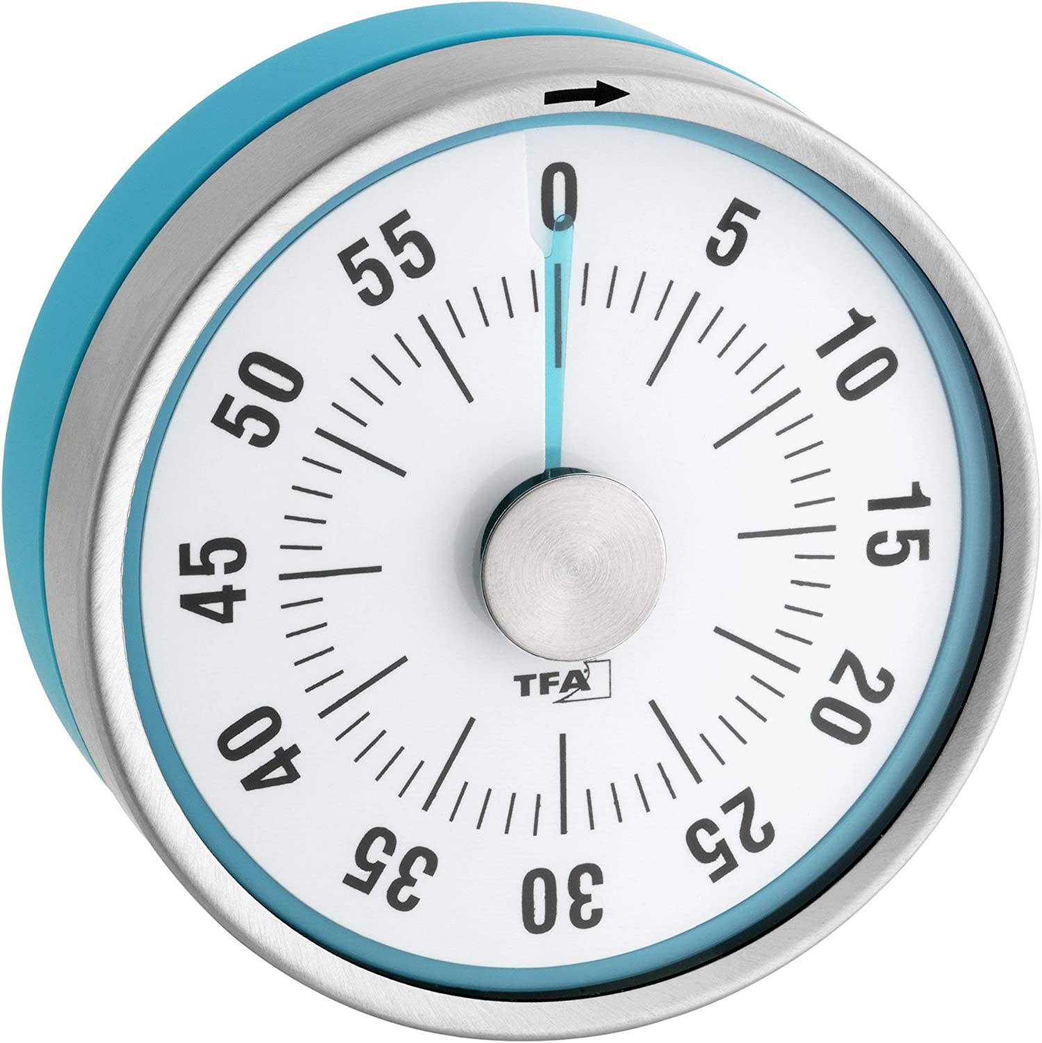 TFA Puck Challenge the lowest price of Japan Kitchen Timer Free shipping on posting reviews Turquoise