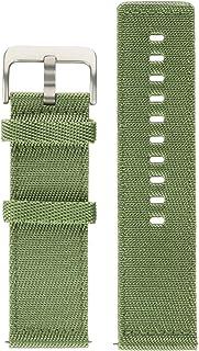 Fitbit Blaze Accessory Nylon Band, Olive - Small