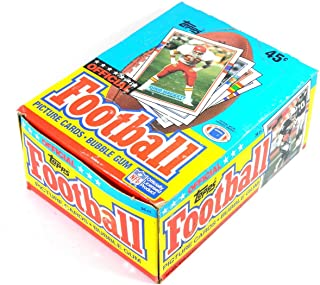 1989 Topps Football Cards, 36 wax packs in box