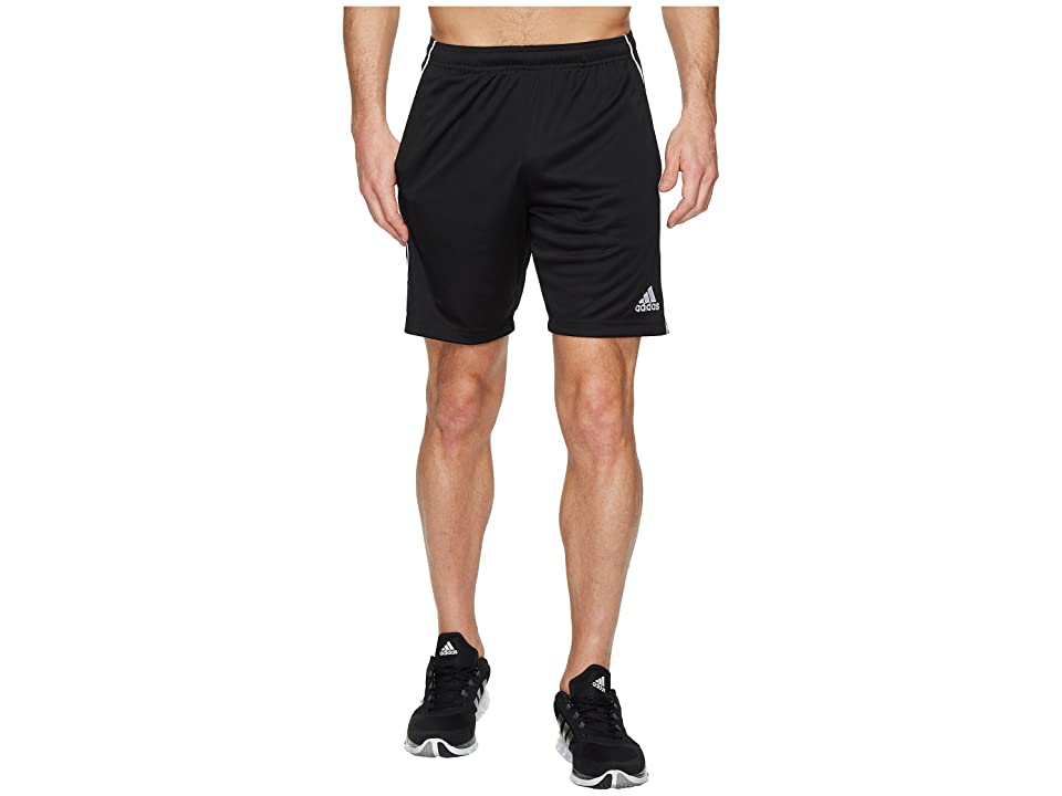 adidas Core18 Training Shorts (Black/White) Men