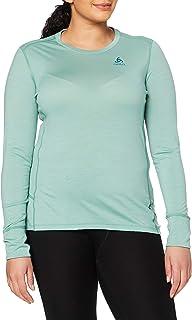 ODLO Women SUW TOP Crew Neck L/S Natural MERIN Undershirt