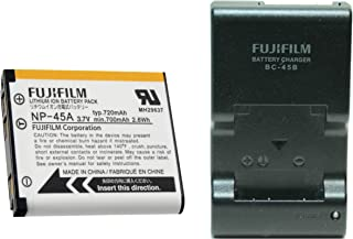 BC45B Battery Charger + NP45A Li-Ion Battery For Fuji……