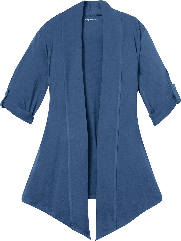 Port Authority Ladies Concept Shrug L543 - Moonlight Blue L543 M