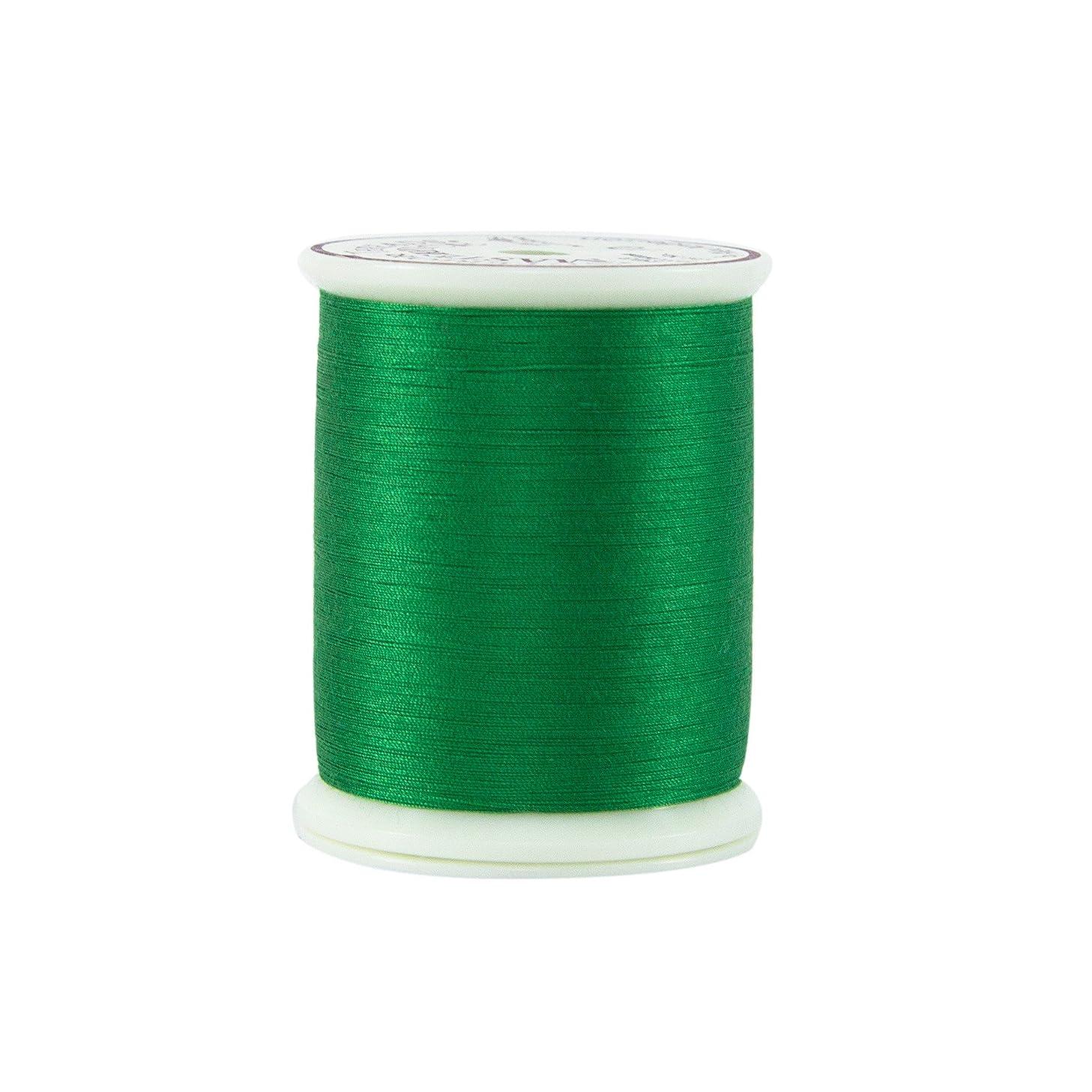 Superior Threads 12401-130 Masterpiece Kelly Green 50W Cotton Thread, 600 yd