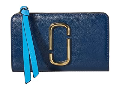 Marc Jacobs Snapshot Compact Wallet (New Blue Sea Multi) Wallet Handbags