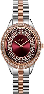 JBW Womens Quartz Watch, Analog Display and Stainless Steel Strap J6381E