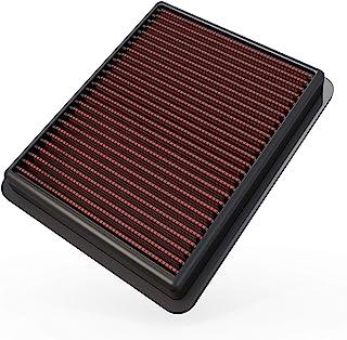 K&N Filtro de aire del motor: alto rendimiento, premium, lavable, filtro de repuesto: compatible con Mazda L4 2012-2019 (C...