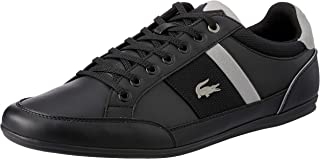 Lacoste Chaymon 318 1 Men's Fashion Shoes, Black/Grey