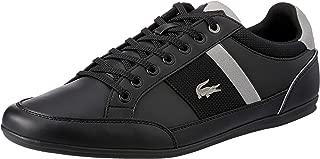 Lacoste Chaymon 318 1 Men's Fashion Shoes, Black/Grey