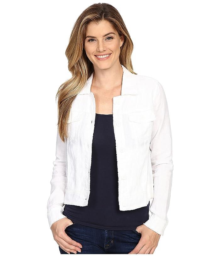 Tommy Bahama  Two Palms Raw Edge Jacket (White) Womens Coat