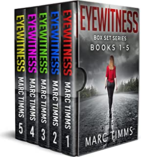 Eyewitness Box Set Series Books 1-5: A Fast Paced Crime Mystery thriller