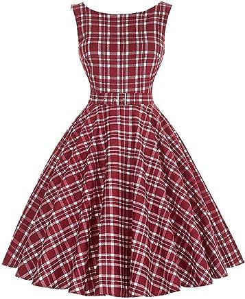50s Party Rockabilly Vintage Dress Audrey Hepburn Vestidos Sleeveless O-Neck Pinup Wiggle Women Dress