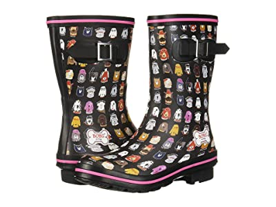BOBS from SKECHERS Rain Check May Flowers (Black/Multi) Women