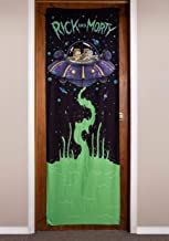 "Calhoun Sportswear Rick and Morty Spaceship 26"" x 78"" Door Banner Standard"