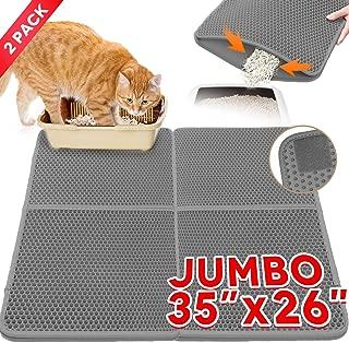 Cat Litter Mat,Kitty Litter Trapper,Extra Large Max 35
