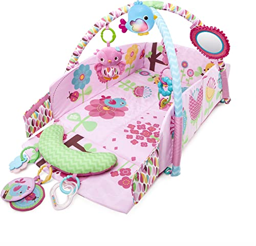 Bright Starts 52158 Pretty in Sweet Songbirds Baby's Play Place, Rosa