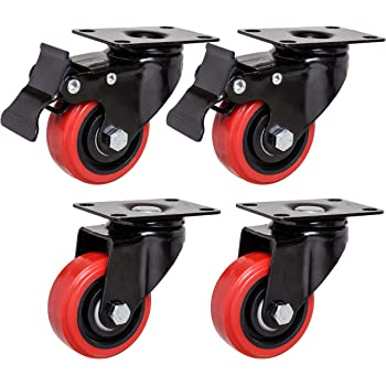 Set of 2 Replacement Casters for the Magliner Gemini Senior or Junior Hand Truck
