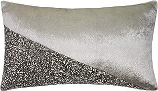 Filled Kylie Minogue Loro Oyster Beads Diamante Velvet 18cm x 32cm Cushion Pillow Case Sham