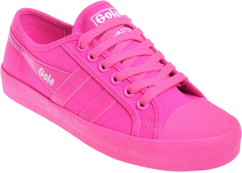 Gola Neon Coaster Low Top Sneaker - Fuchsia