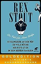 Vier Falle für Nero Wolfe: GOLDEDITION – Limitierte Sonderausgabe (German Edition)