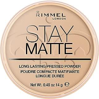 Rimmel Stay Matte Pressed Powder, Sandstorm, 0.49 Ounce (Pack of 2)
