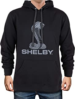 Shelby American Cobra Super Snake Logo Hoody - Black