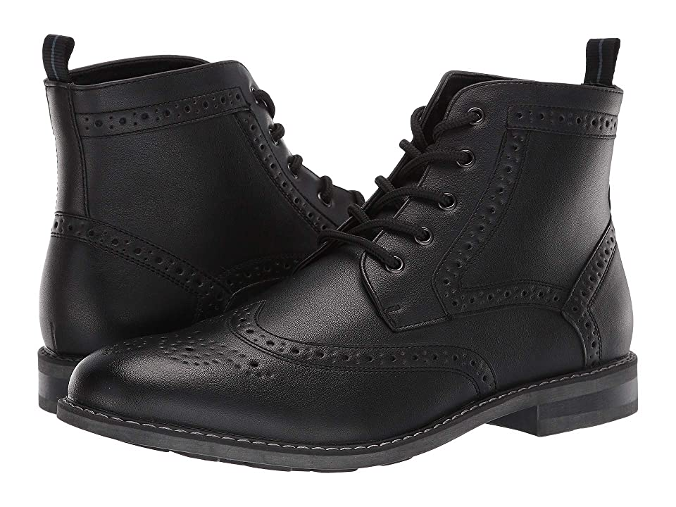 Nunn Bush Parker Wing Tip Chukka Boot (Black) Men